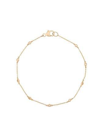 Dana Rebecca Designs 14kt Yellow Gold Lulu Jack Single Bezel Set Diamond Bracelet - Farfetch