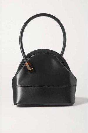 Isel Leather Tote - Black