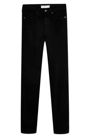 Topshop Jamie High Waist Black Jeans (Regular & Petite) | Nordstrom