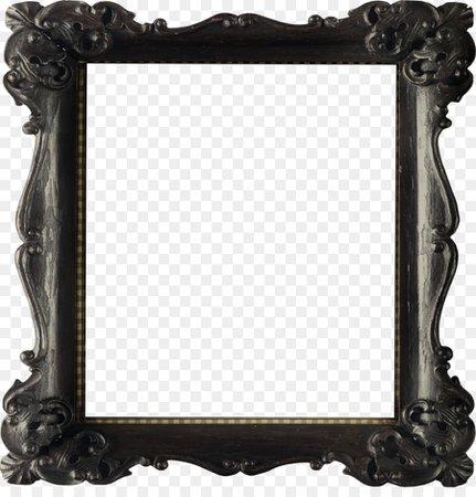 Background Black Frame png download - 3400*3483 - Free Transparent Picture Frame png Download.