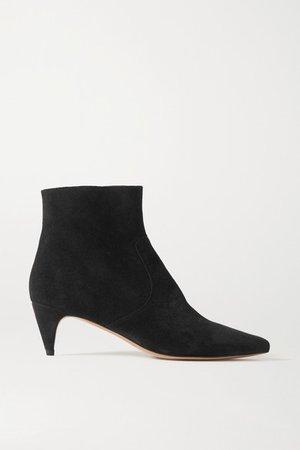 Derst Suede Ankle Boots - Black