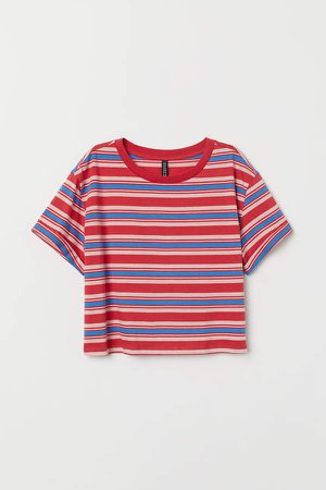 Short T-shirt - Red