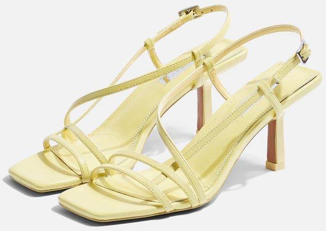 TOPSHOP Lemon Sandals