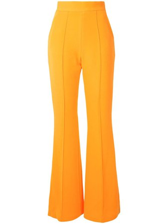 Alex Perry Leighton high-rise Flared Trousers - Farfetch