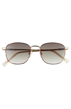 Le Specs Neptune Deux Core 52mm Round Sunglasses | Nordstrom