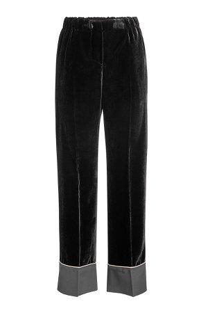 Velvet Pants with Silk Gr. IT 40