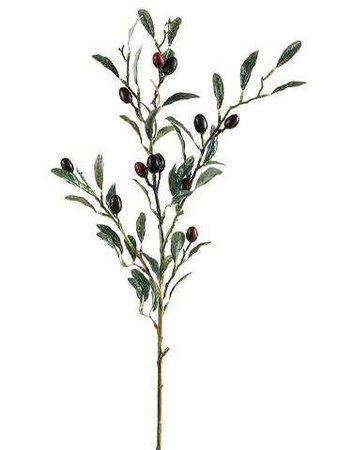 Artificial Olive Branch | Fake Flowers | Afloral.com