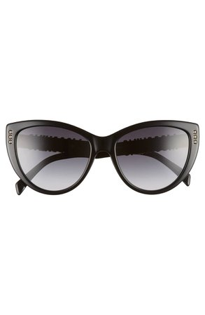 Moschino 56mm Gradient Cat Eye Sunglasses | Nordstrom