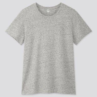 WOMEN SUPIMA® COTTON CREW NECK SHORT-SLEEVE T-SHIRT | UNIQLO US