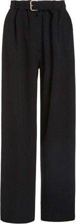 The Row Nerea Pleated Wide-Leg Wool Pants