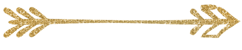 transparent gold arrow