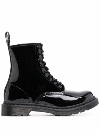 Dr. Martens high-shine ankle boots - FARFETCH