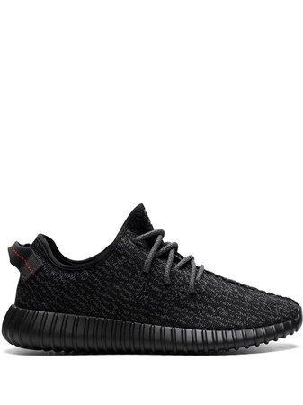 "Adidas YEEZY Yeezy Boost 350 ""Pirate Black"" Sneakers - Farfetch"
