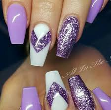 purple coffin nails - Google Search