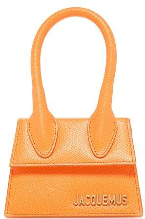 jacquemus orange bag