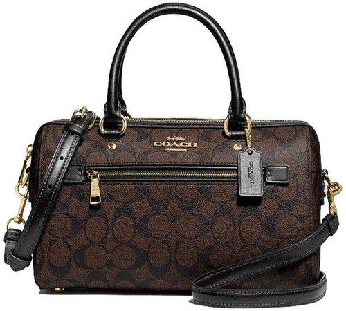 Coach Rowan Leather Satchel Bag