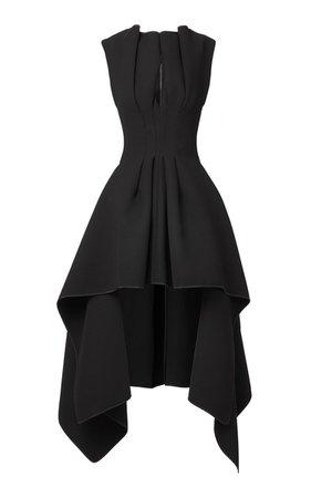 Inhibit Pleated Crepe Dress By Maticevski   Moda Operandi