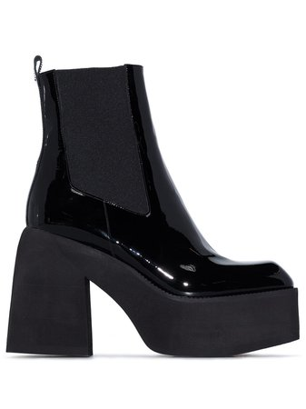 Nodaleto 105mm Leather Ankle Boots - Farfetch