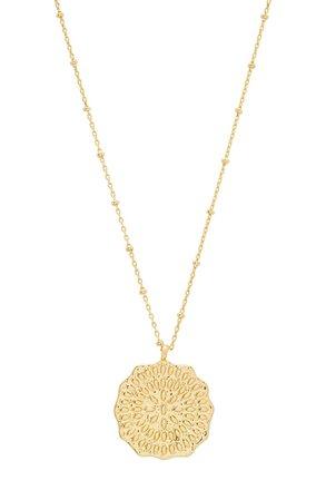 gorjana Mosaic Coin Pendant Necklace | Nordstrom