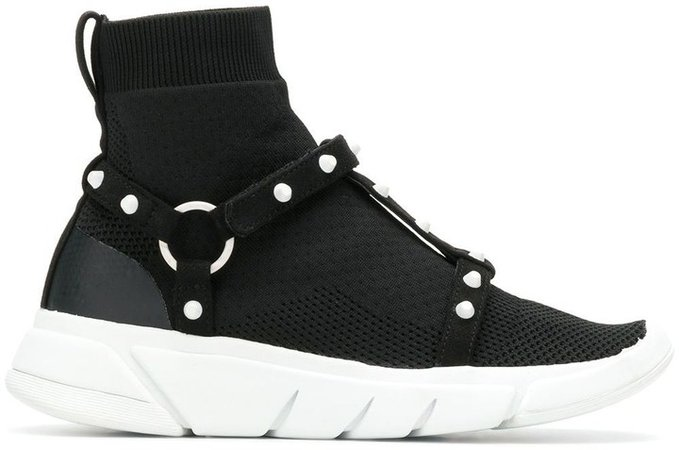 Cage high top sneakers
