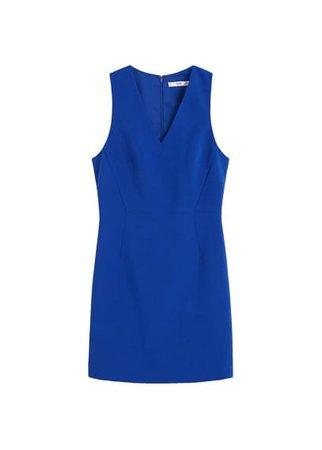 MANGO Fitted dress