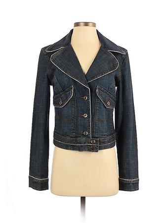 U.S. Polo Assn. Solid Blue Denim Jacket Size S - 60% off   thredUP