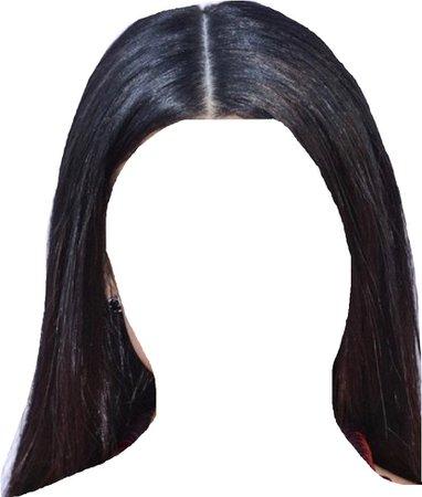 hair black straight