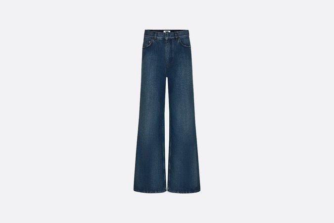 dior blue jeans