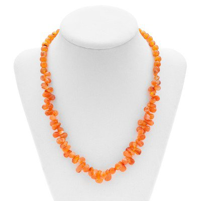 Carnelian Gemstone Necklace | Mystic Self LLC
