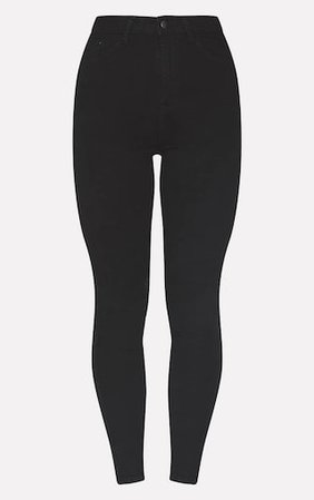Prettylittlething Black 5 Pocket Skinny Jean   PrettyLittleThing