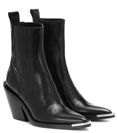 Paco Rabanne Western Boots
