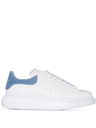 White Alexander Mcqueen Oversized Low-Top Sneakers | Farfetch.com