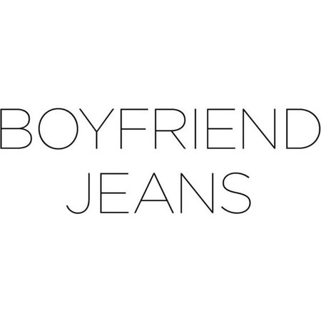 jeans text