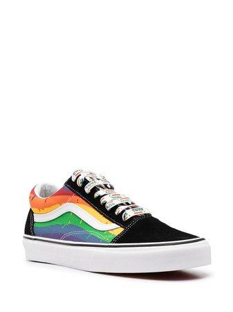 Vans Rainbow Drip Old Skool Sneakers - Farfetch