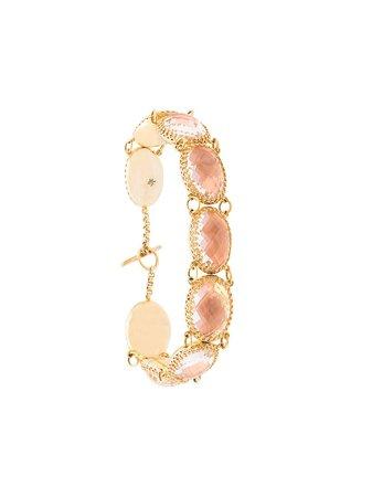 Larkspur & Hawk Lily Bellini Foil Bracelet LIBR9WQBEG Gold | Farfetch
