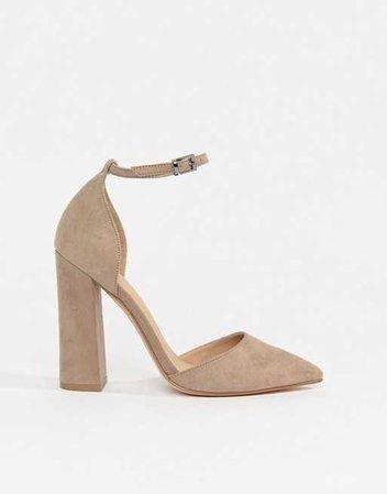 ASOS DESIGN | Туфли с острым носом на высоком каблуке ASOS DESIGN