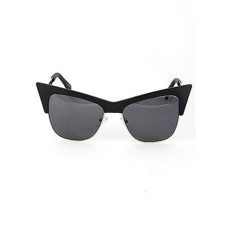 Sunglasses | Shop Women's Retro Cat Eye Sunglasses at Fashiontage | HD0823WSB02_S