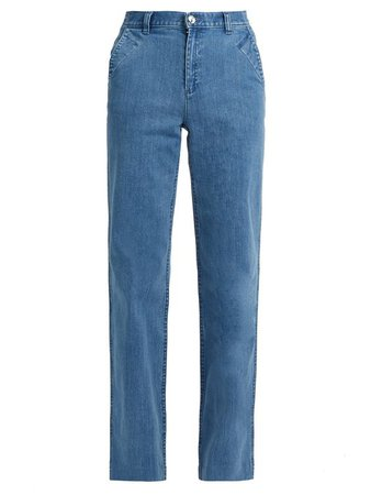 America high-waisted wide-leg jeans | A.P.C.