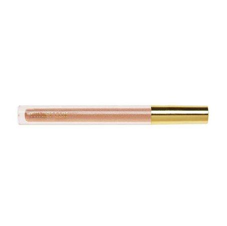 Winky Lux Glazed Lips Sheer Shimmer Lip Gloss in Nude (Coffee)