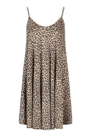 Leopard Swing Dress | boohoo