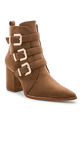 RAYE x House Of Harlow 1960 Doute Boot in Taupe Brown | REVOLVE