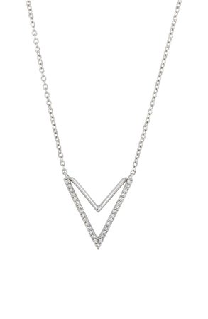 Carrière Diamond Double-V Pendant Necklace (Nordstrom Exclusive)   Nordstrom