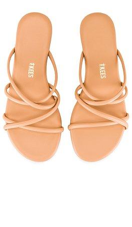 TKEES Sloan Sandal in Nude   REVOLVE