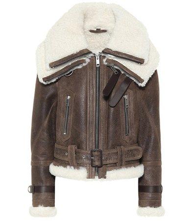 Reissued 2010 shearling jacket