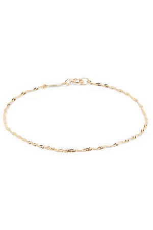 Catbird | Sweet Nothing gold bracelet | NET-A-PORTER.COM