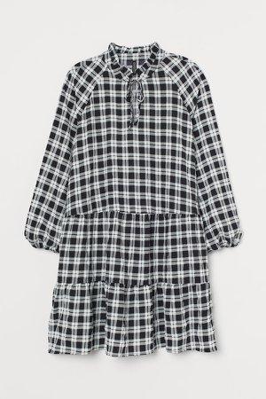 H&M+ A-line Dress - Black
