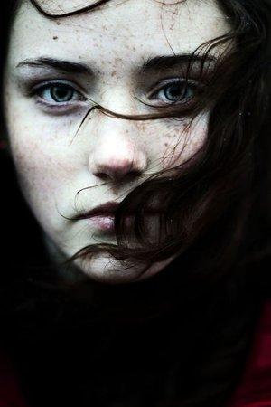black haired girl
