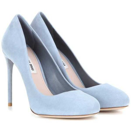 Pastel Blue Heels (Miu Miu)