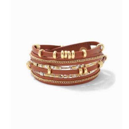 Stella&Dot Maize Wrap Bracelet