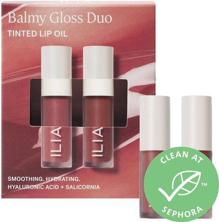 Mini Balmy Gloss Tinted Lip Oil Duo